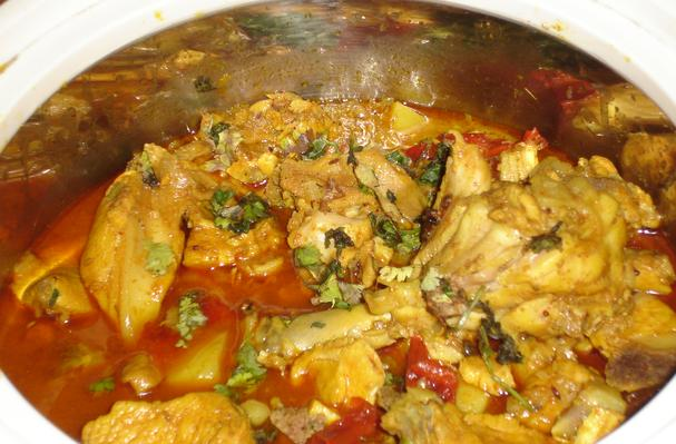Image of Andhra Chicken Curry, Foodista