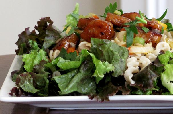 Image of Asian Tempeh Salad With Sesame Lime Dressing, Foodista