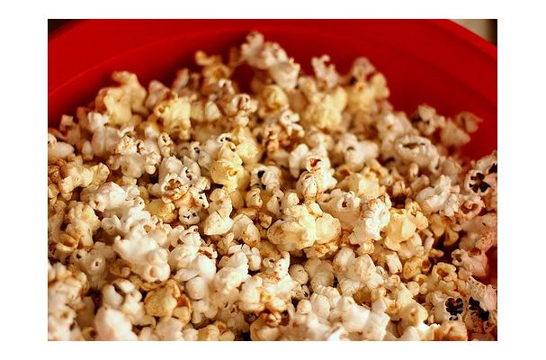 Image of Autumn-spiced Buttered Popcorn, Foodista