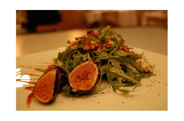 Image of Arugula And Fig Salad, Foodista