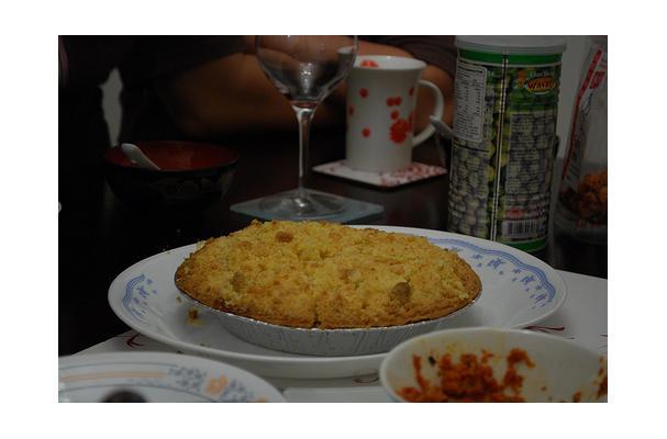 Image of Apple Crumble Pie, Foodista