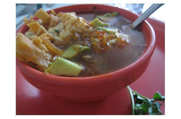Image of Azteca Soup, Foodista