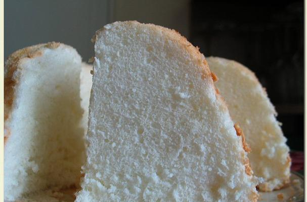 Image of Angel Food Cake With Lemon Icing, Foodista