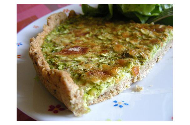 Image of Asparagus Quiche, Foodista