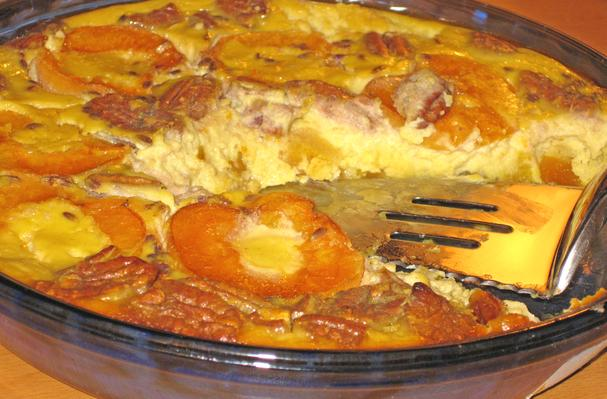 Image of Apricot Clafouti With Lavender & Pecans, Foodista