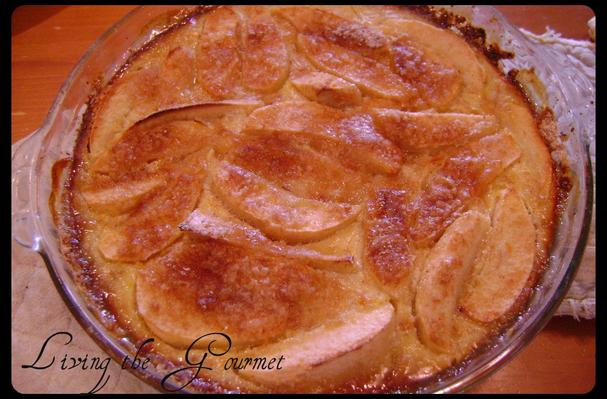 Image of Apple Custard Pie With Oatmeal Crust, Foodista