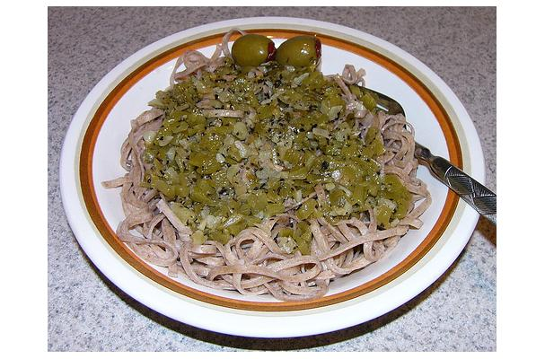 Image of Artichoke Linguine, Foodista