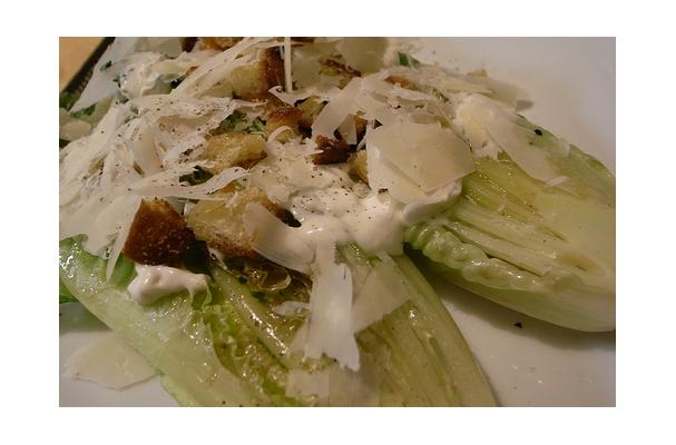 Grilled Romaine Caesar Salad Recipe