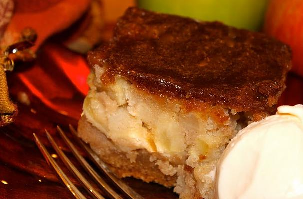 Image of Apple Cake With Caramel Brown Sugar Glaze, Foodista
