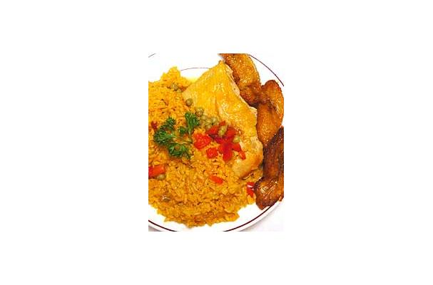 "Image of Arroz Con Pollo A La Chorrera (""dripping"" Chicken And Rice Cuban Style), Foodista"