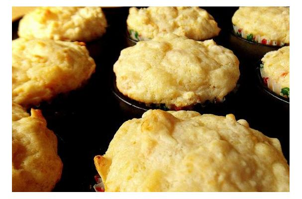 Image of Apricot Stilton Cheese Muffins, Foodista