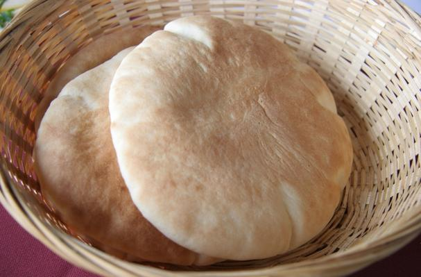 Image of Arabic Flat Bread, Foodista