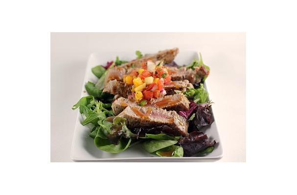 Image of Ahi Tuna Mango Salsa Salad, Foodista