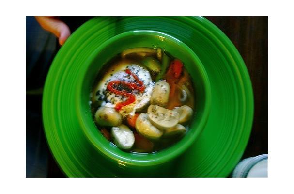 Image of Asparagus Mushroom Soup, Foodista