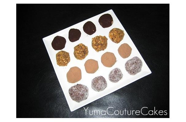 Image of Almond Chocolate Truffles, Foodista
