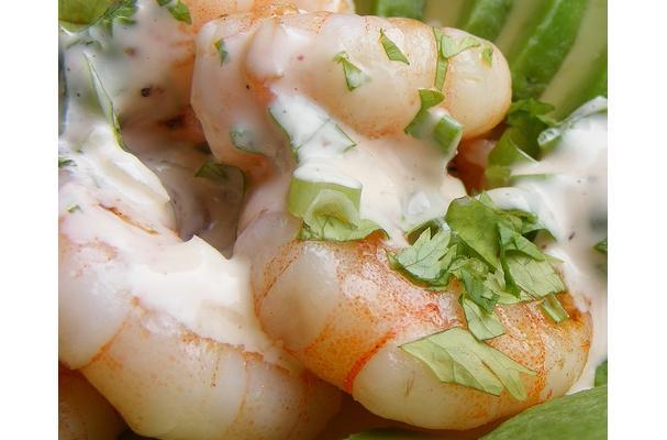 Image of Avocado Shrimp, Foodista