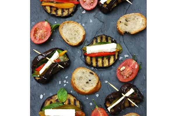 Image of Antipasto Eggplant Stacks, Foodista