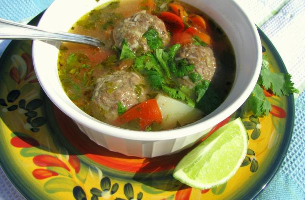 Image of Albondigas (meatball Soup), Foodista
