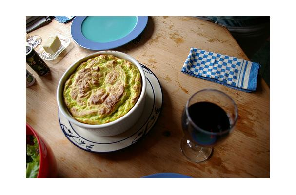 Image of Asparagus Souffle, Foodista