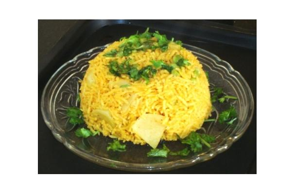 Image of Aloo Mutter Ke Chawal, Foodista
