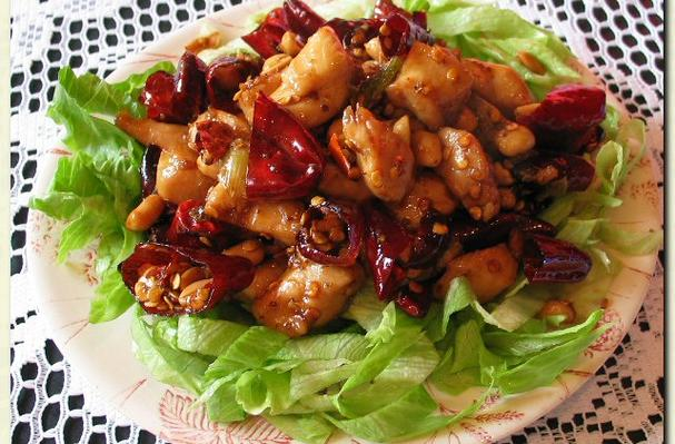 Foodista Recipes Cooking Tips And Food News Diced Chicken With Chillies And Nuts 辣子鸡丁
