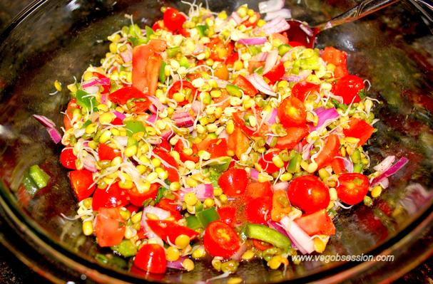 how to make mung bean sprout salad