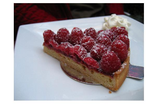 Image of Almond Crusted Torte, Foodista