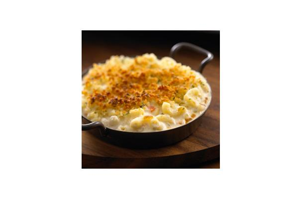 "Image of All Natural Alouette® Savory Vegetable Baked ""mac & Cheese"", Foodista"