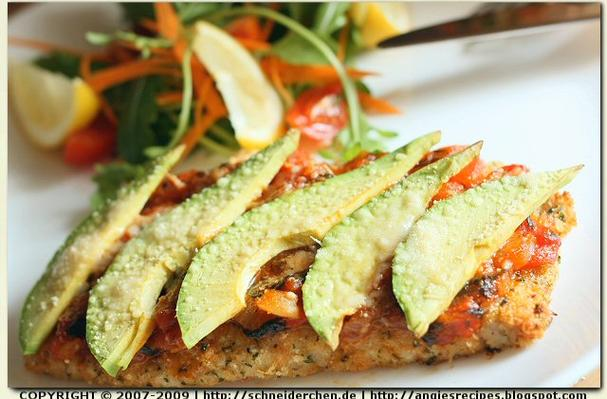 Image of Avocado Chicken Parmigiana, Foodista