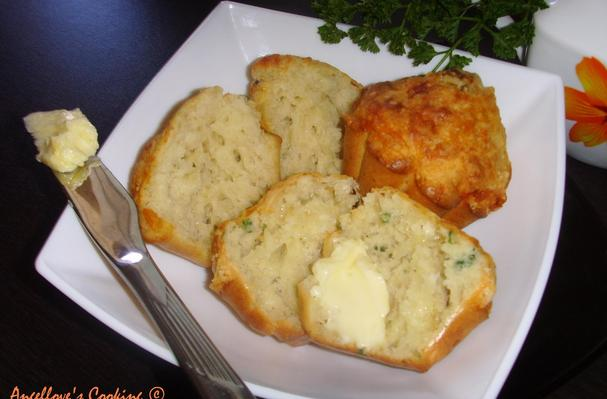 """Image of """"cheese Bouquet"""" Muffins, Foodista"""
