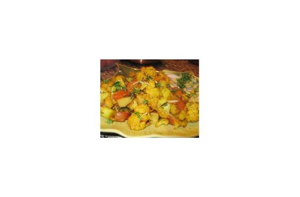 Image of Aloo Gobhi Recipe, Foodista