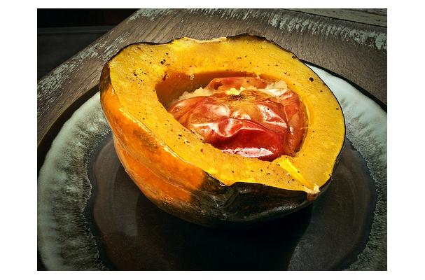 Image of Acorn Squash With Apples, Foodista