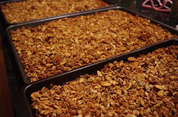 Image of Nutty And Fruity Granola, Foodista