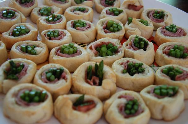 Image of Asparagus & Ham Spirals, Foodista