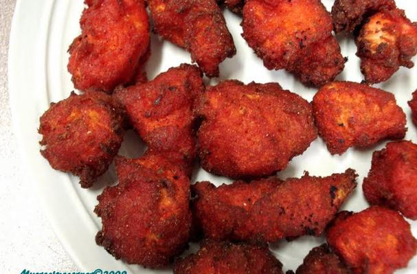 Foodista Recipes Cooking Tips And Food News Chicken 65 Chicken Marinaded In Traditional
