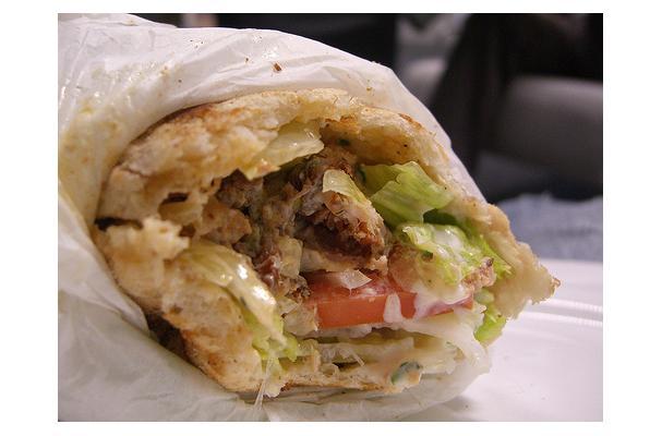 Greek Pita Wrap Greek Pita Wrap