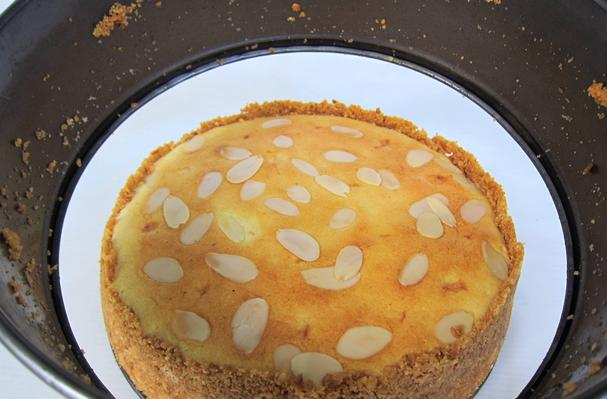 Image of Almond Cheese Cake, Foodista