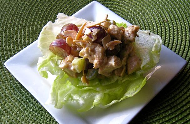 Image of Almond-grape Chicken Salad, Foodista