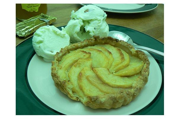 Image of Almond Tart, Foodista