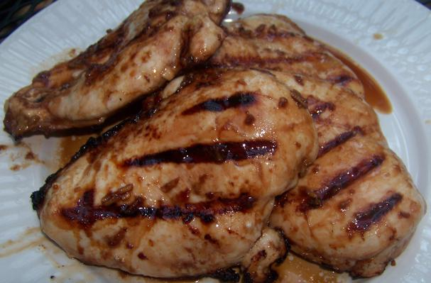 Image of Asian Grilled Chicken Breasts, Foodista
