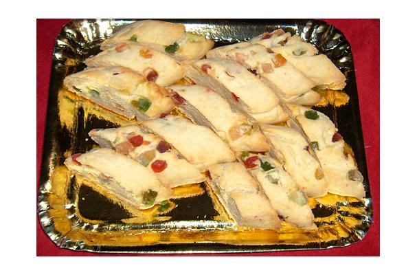 Image of A Holiday Candied Fruit Biscotti, Foodista