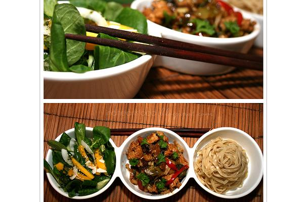 Image of Asian Noodle Salad, Foodista