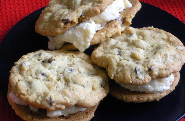 Image of Amaretto Chocolate Chip Cookies, Foodista