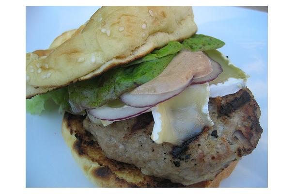 Image of Apple Ginger Turkey Burgers, Foodista
