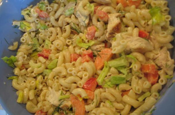 Image of Aquapocalypse Chicken & Pasta Salad, Foodista
