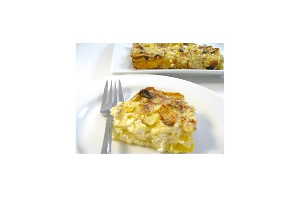 Image of A Super Delicious Skinny Passover Noodle Kugel, Foodista