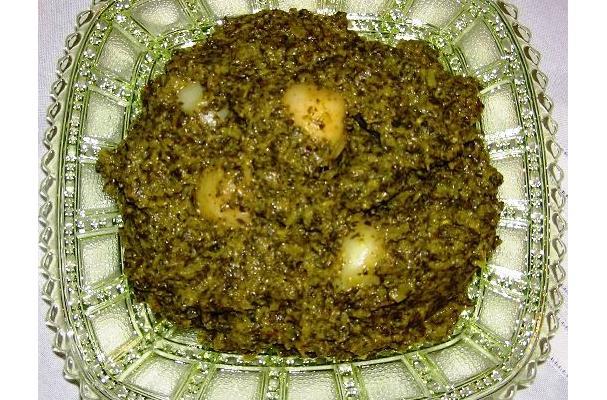 Image of Aloo Palak, Foodista