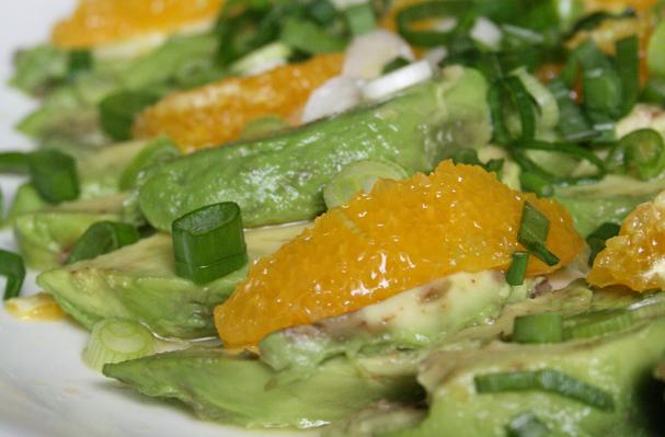 Image of Avocado And Orange Salad With Orange-ginger Dressing, Foodista