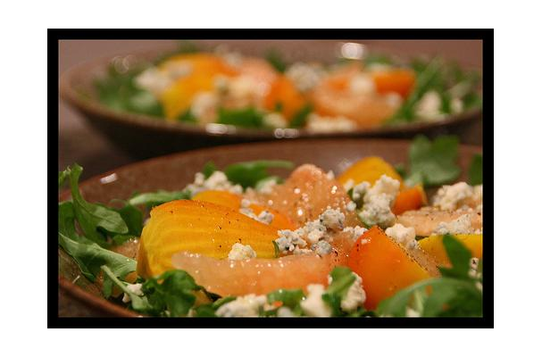 Image of Arugula Salad With Oranges, Foodista