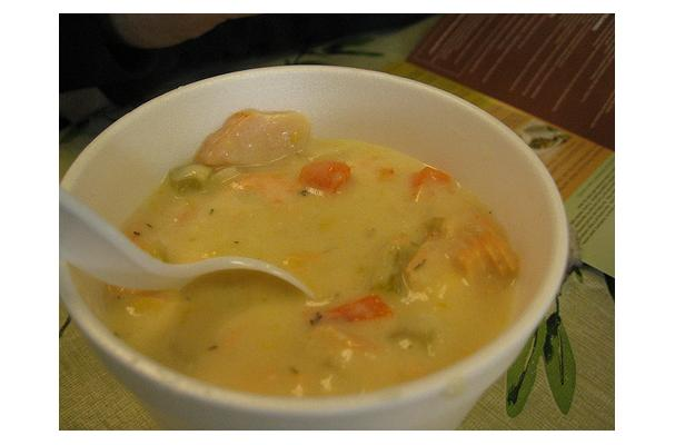 Image of Alaska Salmon Chowder, Foodista